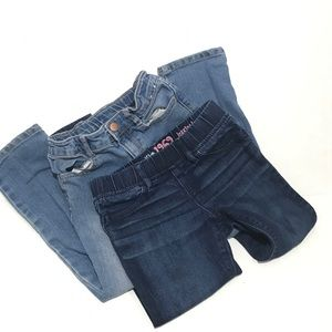 Lot Of 2 Girls gap and Gymboree skinny jeans Pants